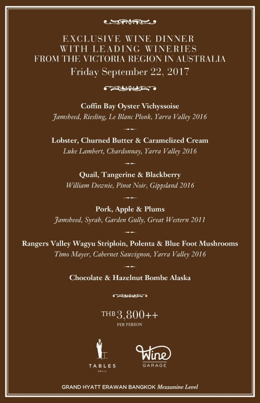 WG Grand Hyatt Victoria Producer Menu Sep 22 2017