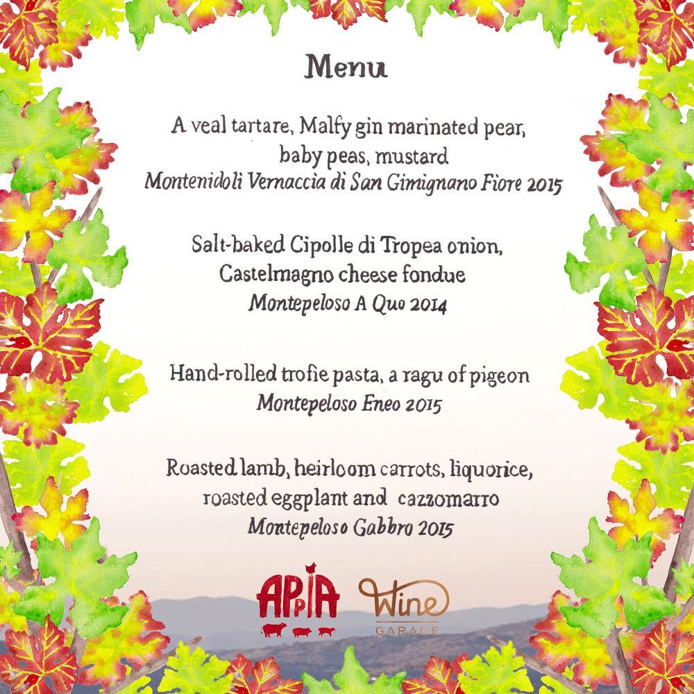 Appia Montepeloso Menu Jun 2 2018