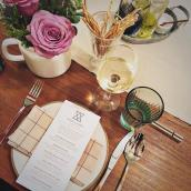 cookhouse table setting
