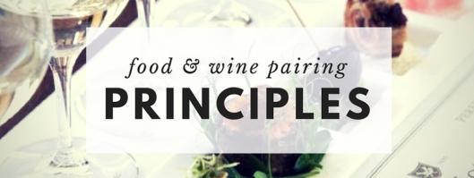 Wine & Food Pairing Principle Workshop FB Event Banner