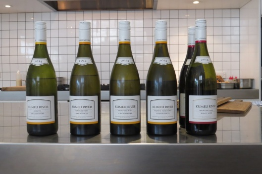 Kumeu River line up (credit NZ Wine Blogger)