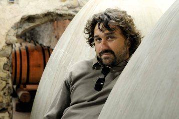 Matthieu BARRET, Viticulteur. Domaine du Coulet. Cornas. France. Juillet 2008