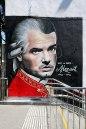 Falco as Mozart