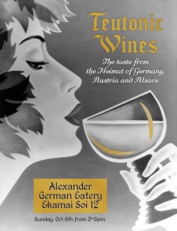 Teutonic wine