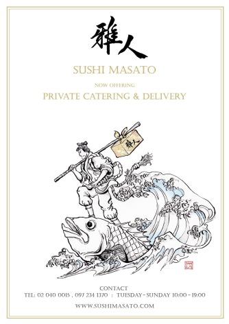 Sushi Masato delivery